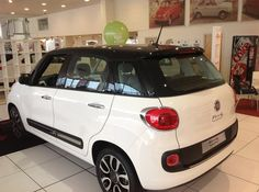 Visit Essex Fiat now to see the all-new Fiat 500L.