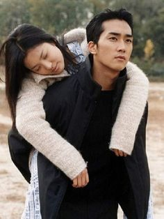 "Song Seung Hun & Song Hye Kyo in ""Endless Love / Autumn in My Heart / Autumn Tale"" series Korean Drama Tv, Korean Actors, Sad Love Stories, Love Story, Autumn Tale, Autumn In My Heart, Won Bin, Drama Tv Series, Song Seung Heon"
