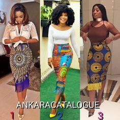 "2,046 Likes, 51 Comments - AnkaraCatalogue (@ankaracatalogue) on Instagram: ""Pick your fave fringe skirt... ankaracatalogue #buynigeria #buyafrica #africanfabrics #africanprint…"""