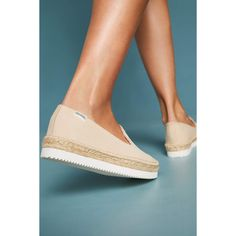 Soludos Platform Espadrilles ($108) ❤ liked on Polyvore featuring shoes, sandals, nude, espadrille sandals, espadrilles shoes, nude shoes, nude sandals and nude platform shoes