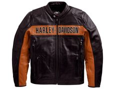 "Lederjacke ""Classic"" 98014-10VM / Lederjacken / Herren / Bekleidung / Shop - House-of-Flames Harley-Davidson"