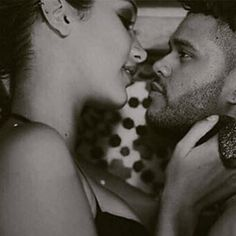 The Weeknd and Bella XO  Ugh the way they look at each other