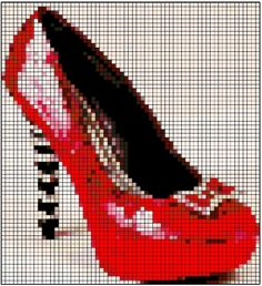 Wicked Ruby Red Slippers