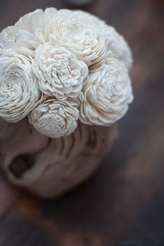 """Balsa Wood Flowers - I want this to be my """"theme"""" I'd like to incorporate these in areas"""