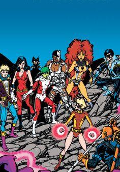Teen Titans – George Perez & Marv Wolfman