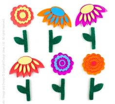 GelGems® small bag (colorful daisies)