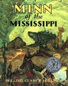 Minn Of The Mississippi, 1952 Newbery Medal Honor winner, Holling C. Holling #childrensbooks #GoodReads #Books