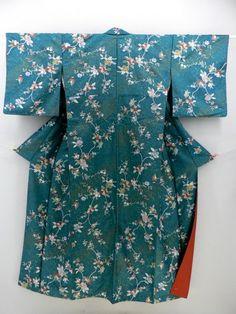 Classic Pattern Komon / しっとり古典柄の化繊小紋 いろいろ   【リサイクル着物・アンティーク着物・帯の専門店 あい山本屋】#Kimono #Japan