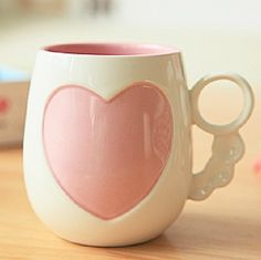 OurSanli:: Romantic Love Flowers Coffee Mug - Coffee Mugs for Sale