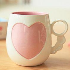 Romantic Love Flowers Coffee Mug - Coffee Mugs for Sale