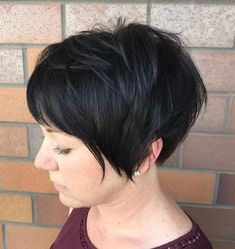 Cropped Pixie for Thick Hair