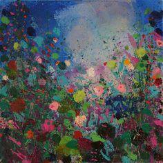"Saatchi Online Artist Sandy Dooley; Painting, ""Blue and Purple Painting"" #art"
