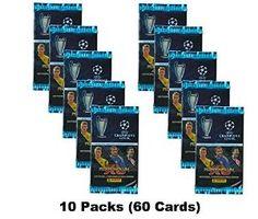 Champions League Adrenalyn XL 2014/2015 (10 Packs) 14/15 Packets