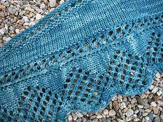Marrowstone Shawl pattern by Marcy Vandale