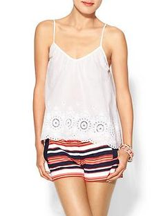 Patrons of Peace Sedgewick Embroidered Cami | Piperlime