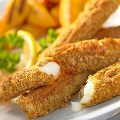 Curried Fish Goujons - An amazing use of the George Foreman Grill