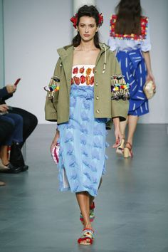 Stella Jean. This jacket, that dress...oh my goodness, yes!