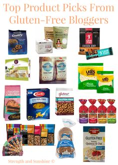 Top Product Picks From Gluten-Free Bloggers | Strength and Sunshine @RebeccaGF666 #glutenfree #celiac #products