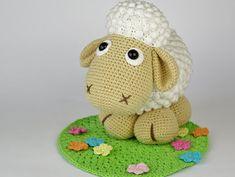 Maman mouton Wolli Crochet Pattern / Amigurumi / par DioneDesign