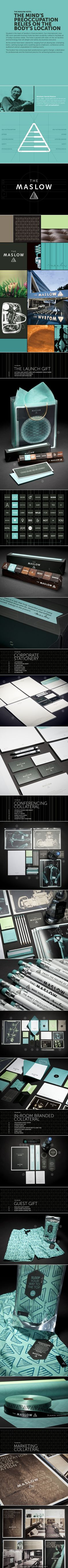 A real beauty The Maslow Hotel #identity #packaging #branding Part 1 curated by Packaging Diva PD created via created via https://www.behance.net/gallery/The-Maslow-Hotel/9943403
