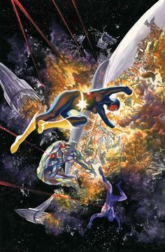 GUARDIANS OF THE GALAXY 3000 by Alex Ross