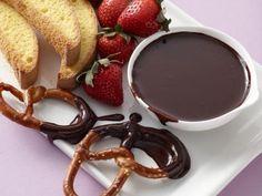 Slow Cooker Chocolate Fondue Recipe | Food Network