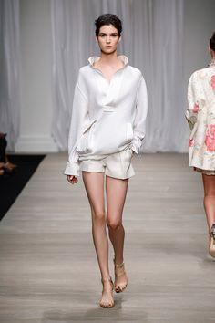 Ermanno Scervino Women's S/S 2015 fashion show #ErmannoScervino #ScervinoLive