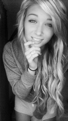 She is so beautiful.