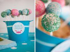 beach ball treats