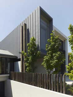 Stylish Australian House Made of Rectangular Blocks Connecting With the Nature Top room exterior material