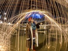 How to Create and Capture Fire Rain with Night Lapse #GoPro #GoProHowTo