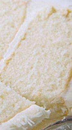 Snowdrift Vanilla Bean Cake ❊