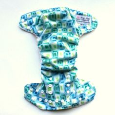 One Size diaper made with KAM snaps.