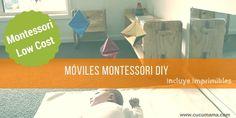 Móviles montessori diy Infant Activities, Organization, Diy, Organize Kids, Infants, Shape, Montessori Activities, Montessori Bedroom, Montessori Toys