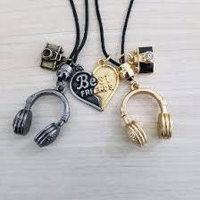 Bff Necklaces, Best Friend Necklaces, Best Friend Jewelry, Best Friend Rings, Bracelets, Music Jewelry, Cute Jewelry, Jewelry Accessories, Bff Gifts