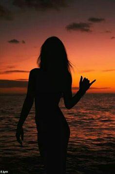 Sunset siloette
