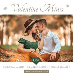 Instagram Post Template Valentine Mini Session, Instagram Post Template, Online Gallery, Digital Image, Photo Sessions, Templates, Couple Photos, Instagram Posts, Models