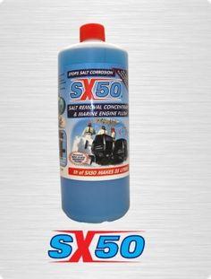 1 Liter SX 50 Hochleistungs Reiniger für Salz- Ablagerungen-Salz-Korrosion