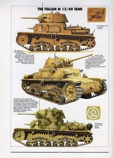 Histoire & Collections - Tanks of the WWII — Yandex. Army Vehicles, Armored Vehicles, North African Campaign, Military Drawings, Italian Army, War Thunder, Model Tanks, Armored Fighting Vehicle, Military Modelling
