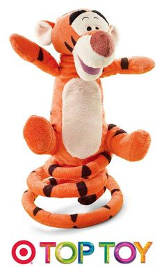 #TopToy Enjoy countless hours of fun with the Disney Bounce Bounce Tigger from the Winnie the Pooh series.