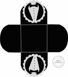 Casando sem grana James Bond Party, Cute Box, Packing Boxes, Paper Crafts, Diy Crafts, Gift Bags, Decorative Items, Pattern Design, Digital Prints