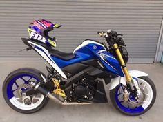 M-Slaz Yamaha Xabre, Yamaha Motorcycles, Cars And Motorcycles, Fz 16, Honda Grom, Biker Gear, Motorcycle Style, Classic Bikes, Super Bikes
