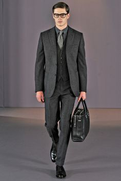 Gieves & Hawkes   Fall 2014 Menswear Collection   Joe Collier