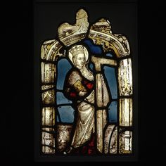 Panel, Stained glass, England, 15th century