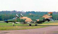 USAF 32nd Tactical Fighter Squadron McDonnell-Douglas F-4E Phantom II, circa 1978.