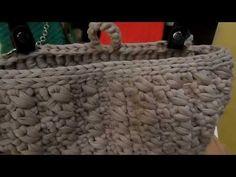 Tutorial: Borsa con punto basso doppio e attacco manici - YouTube