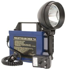 Nightsearcher - Ranger 750 XML Kit The Ranger XML Lamp in a handheld self contained unit complete with Li-ion battery pack car charger and Torches, Low Lights, Flashlight, Ranger, Lamps, The Unit, Packing, Kit, Lightbulbs