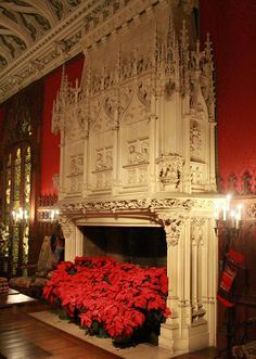 Marble House Gothic Room Fireplace