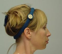 @Aubrie Howell, I really want to make some of these headbands using some of your bows or rose of Sharons for decoration!!!