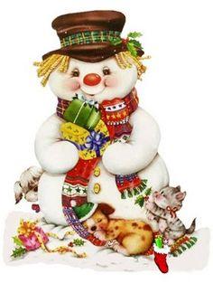 Lindas e fofas imagens de Natal para vocês fazerem suas lembrancinhas, decoupage e outras artes manuais. Imagens fofas de Natal pra você...